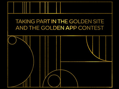 We are taking part in the Golden Site and the Golden App 2019 contest